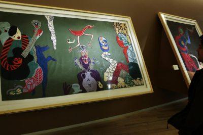 Arpillera y telas bordadas de Violeta Parra son declaradas Monumento Histórico Nacional
