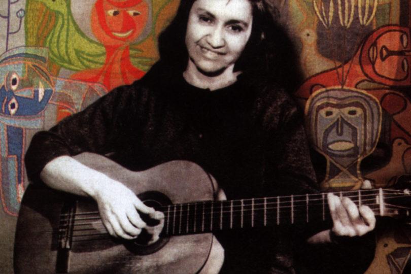 Google celebra el centenario de Violeta Parra con doodle para enmarcar