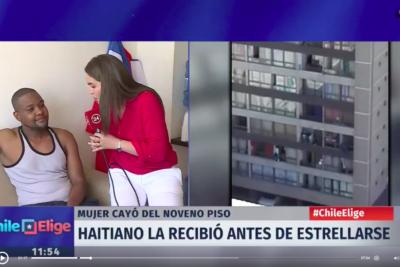 """Haitiano que salvó a mujer tras caída de edificio: """"Nuestro sentido de ayuda viene de 300 años de esclavitud"""""""