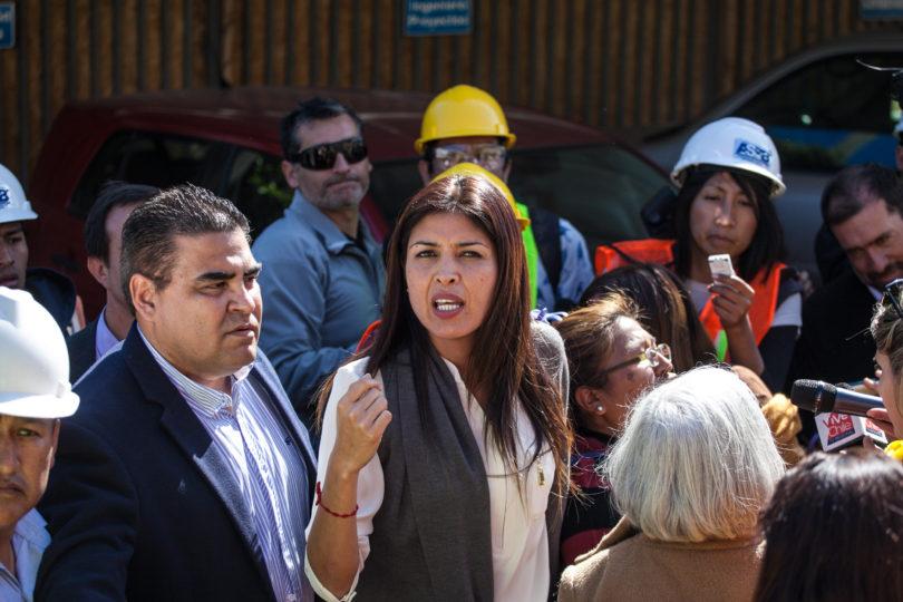 Alcaldesa de Antofagasta acusa intenciones políticas por suspensión de ordenanza que prohibía dormir en la calle