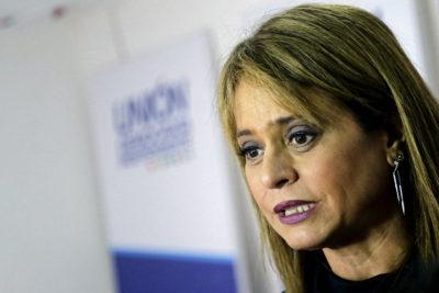 FOTOS  Vocales de mesa se negaron a atender a Jacqueline Van Rysselberghe en Concepción