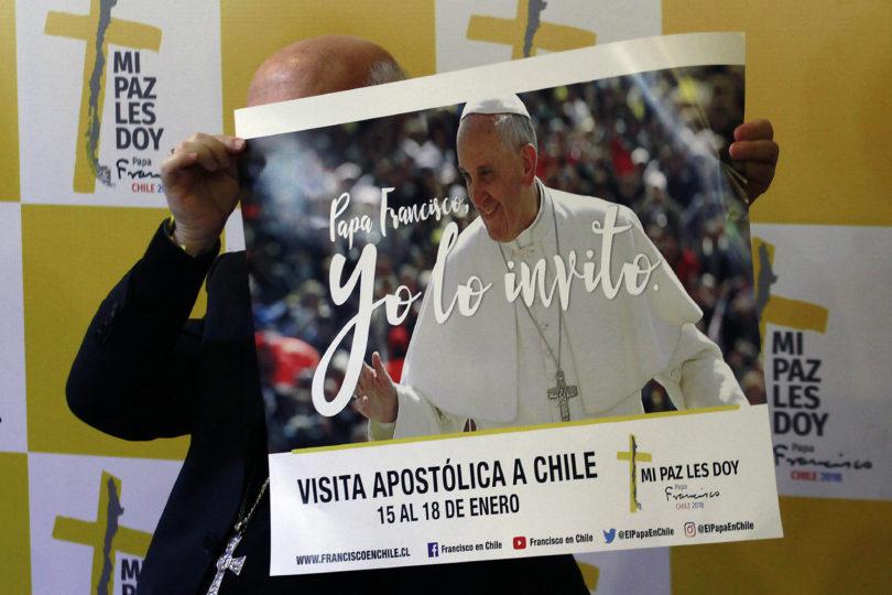 Sólo el 19% de los chilenos participará en visita del Papa Francisco