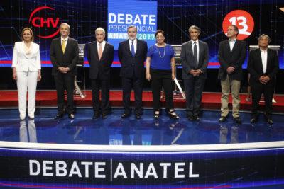 FOTOS | Veinte imágenes de lo que no mostró en la transmisión oficial del debate de Anatel