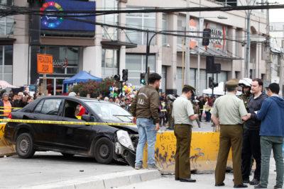 Muere mujer baleada por Carabineros tras tiroteo y atropello en Plaza de Maipú