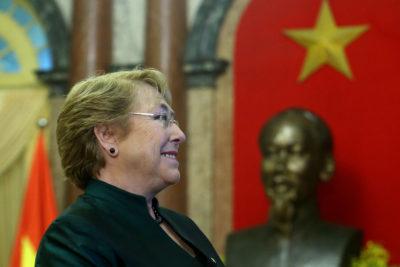Presidenta Bachelet no saldrá al balcón presidencial de La Moneda junto al Papa Francisco