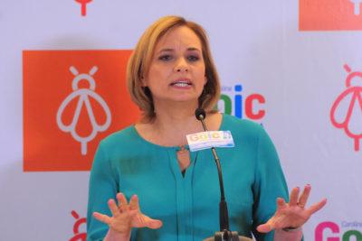 """Carolina Goic acusa a Sebastián Piñera de """"botar 1.000 millones de pesos a la basura"""" en su Gobierno"""