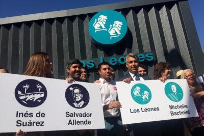 """ME-O propone estación del Metro con el nombre de Bachelet y bautizar el """"Puente Cau Cau Sebastián Piñera"""""""