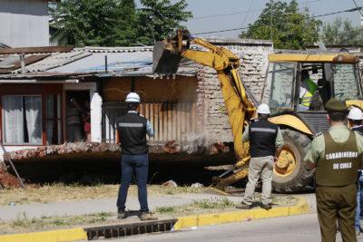 FOTOS | Comienza demolición del muro de La Legua