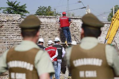 """Alcalde de San Joaquín habla sobre la división en La Legua: """"Era necesario derribar el muro"""""""