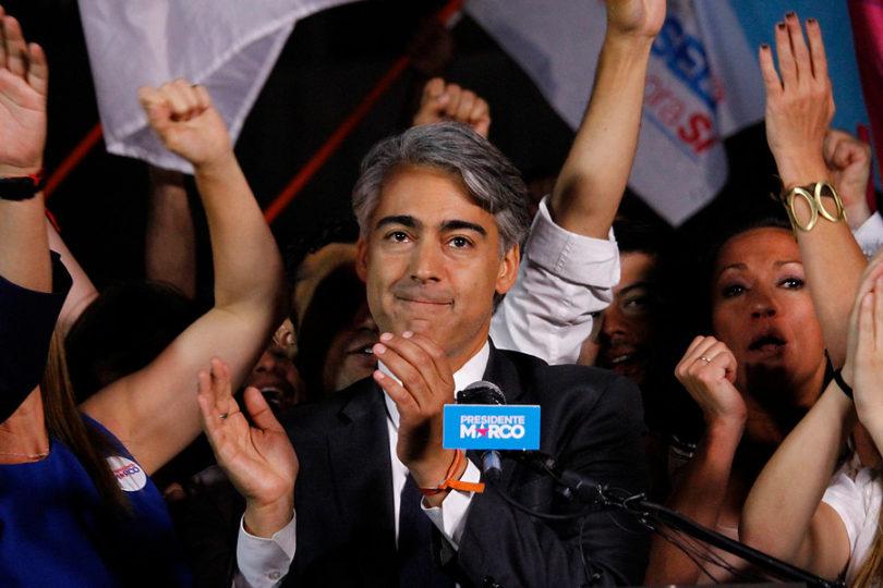 """Marco Enríquez-Ominami: """"Piñera es un mentiroso crónico y Guillier no entiende de qué se trata la Presidencia"""""""