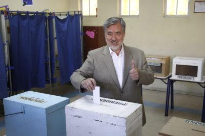"""Alejandro Guillier: """"Los ganadores celebraran y los demás apoyarán, está en juego el bien del país"""""""