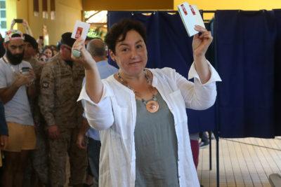 Beatriz Sánchez logra alta adhesión en Valparaíso tras llegada de Jorge Sharp como alcalde