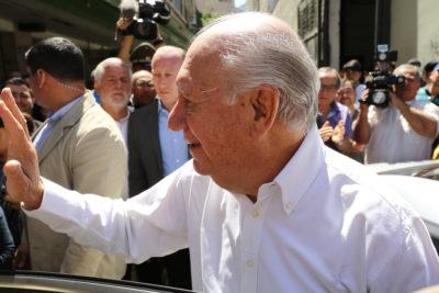 VIDEO l Ricardo Lagos llama a votar por Alejandro Guillier en segunda vuelta