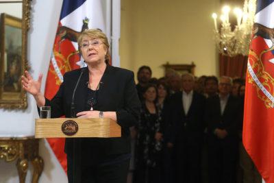 """Presidenta Bachelet y elecciones: """"Hoy sabemos que Chile quiere seguir avanzando"""""""