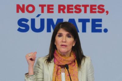 """Paula Narváez, vocera de Gobierno: """"Claramente, Piñera no va a ser recordado por un gran aporte a Chile"""""""