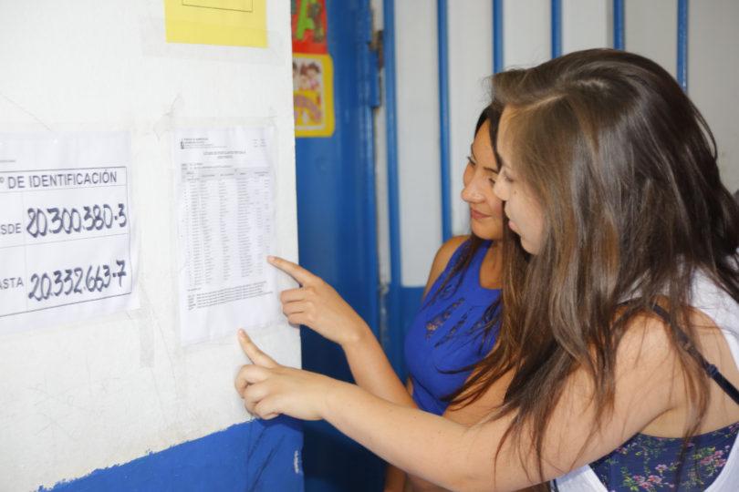 PSU 2017: 295.395 personas inician rendición del examen con Lenguaje y Ciencias
