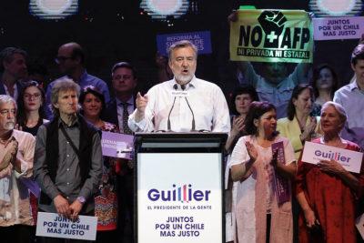 """Alejandro Guillier: """"La derecha se descompuso porque les vamos a ganar y ellos lo saben"""""""