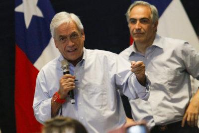 """Piñera acusa """"uso abusivo"""" del Gobierno en la campaña electoral"""