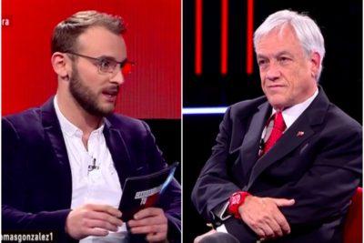 """VIDEO   """"Su programa es casi perfecto"""" y """"te mandé un whatsapp"""": el comentado diálogo Piñera – Tomás González"""