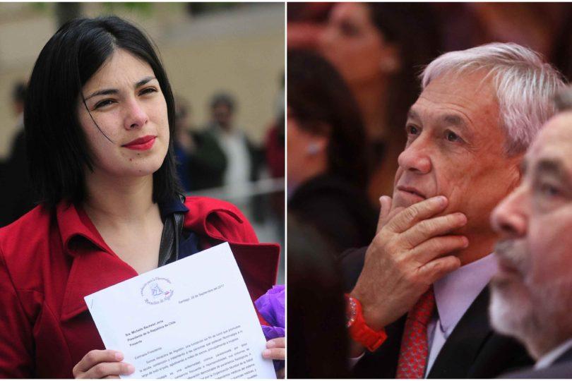 Karol Cariola desclasifica cara a cara con Piñera y responde a curiosa pregunta que le hizo por su ropa