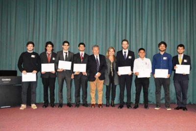 Estudiantes de la USM reciben becas de programa que lidera su Red de Ex Alumnos