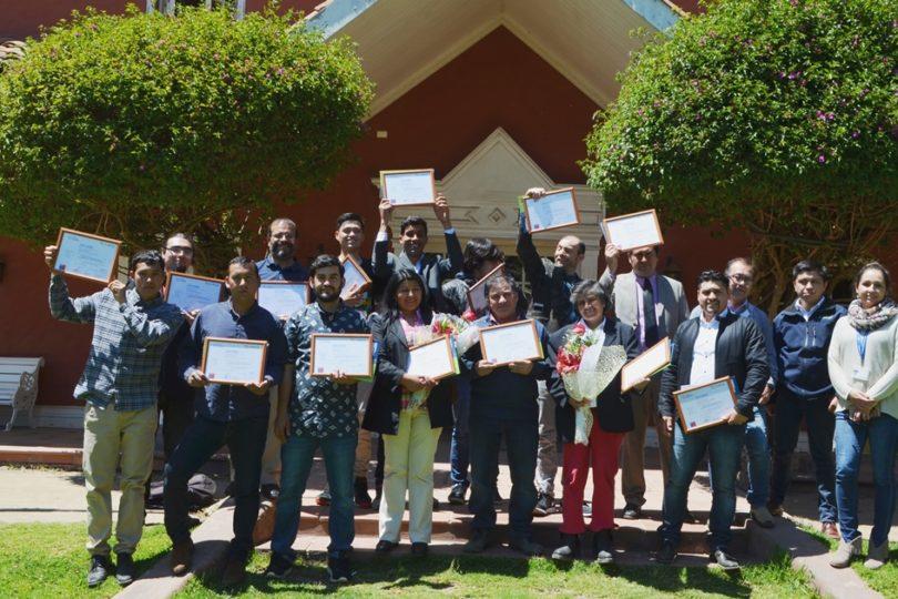 Vecinos de Quintero becados se capacitan en centro reconocido internacionalmente