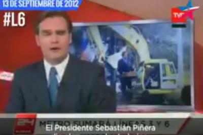 El video que corre por los Whatsapp de políticos de Chile Vamos sobre la Línea 6 del Metro