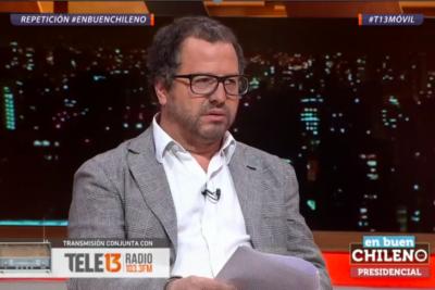 """""""¡Todo el rato es plata!"""": Patricio Fernández se descontrola con Piñera y genera áspero diálogo en En Buen Chileno"""