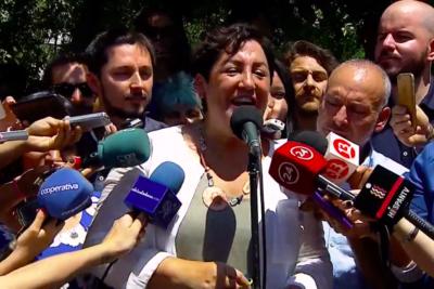 """Beatriz Sánchez se quiebra tras votar: """"Estoy orgullosa de lo que hemos hecho en estos seis meses"""""""