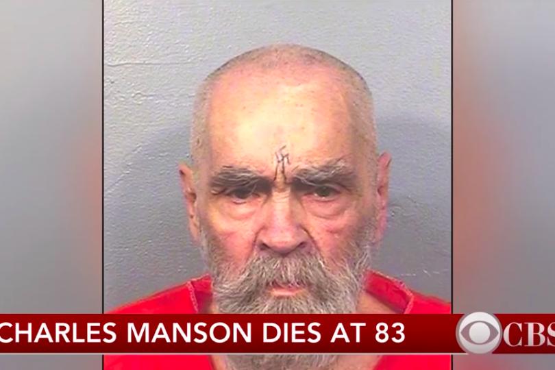 Charles Manson, sangriento asesino de Sharon Tate, falleció a los 83 años