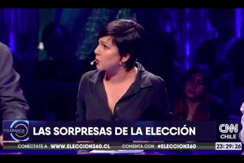 VIDEO | Javiera Parada da luces de lo que hará el FA en balotaje y reconoce que ella votará Guillier