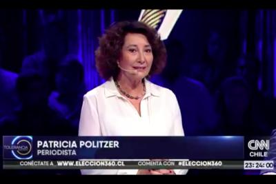 """Patricia Politzer: """"Pasamos de un candidato que podía ganar en primera a uno que probablemente pierda en segunda"""""""