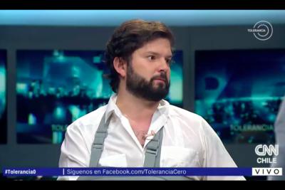 VIDEO | ¿Lo que realmente piensa de Guillier? El gracioso lapsus de Boric en Tolerancia Cero al hablar del candidato