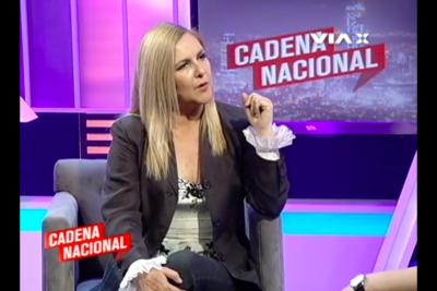"""Pamela Jiles por eventual apoyo del FA a Guillier: """"La discusión debería ser Boric al Ministerio de Hacienda"""""""