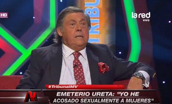 """Emeterio Ureta defiende el acoso a mujeres: """"Es algo natural, que existe y que también hice"""""""