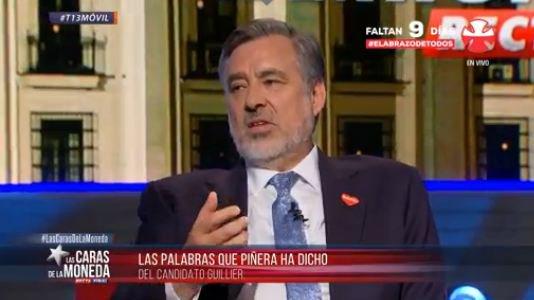 """El guiño de Alejandro Guillier al Frente Amplio: """"A largo plazo hay que terminar con las AFP"""""""