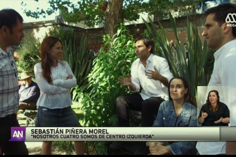 """Hija de Piñera desmiente el """"somos de centroizquierda"""" y apunta a edición de nota de Ahora Noticias"""