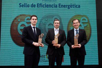 Ministerio de Energía distingue a empresas líderes en eficiencia energética