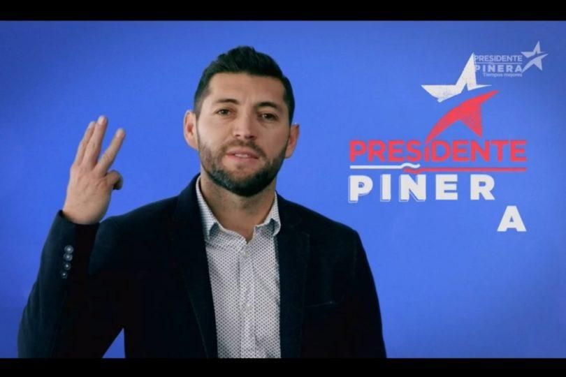 Pepe Rojas se sumó a la franja electoral de Sebastián Piñera