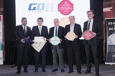 Premian a Cerro Pabellón por su gestión de emisiones de gases de efecto invernadero