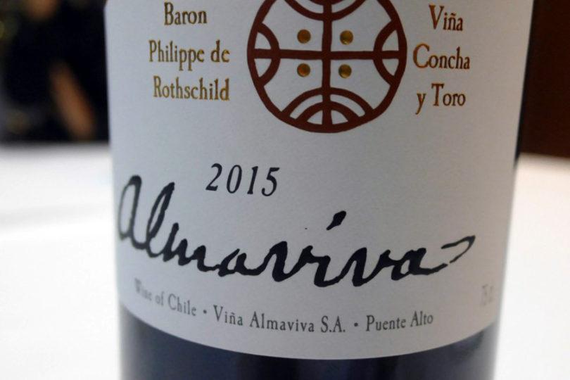 Vino chileno Almaviva elegido el mejor del mundo por afamado crítico
