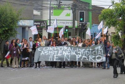 Corporación de Asistencia Judicial abandonada