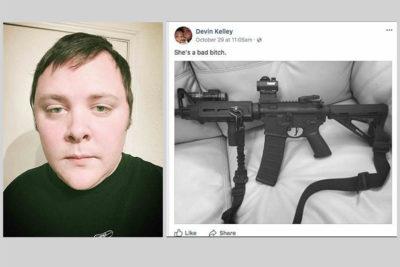 Amante de las armas y golpeador de mujeres: el perfil del autor de la masacre de Texas
