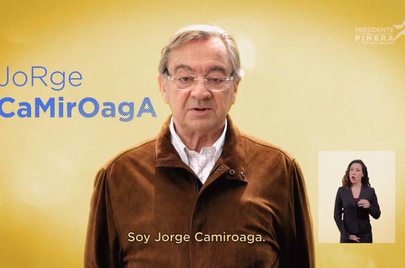VIDEO |Sebastián Piñera puso a familiar de Felipe Camiroaga en su franja y en Twitter se armó un escándalo