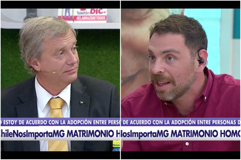 VIDEO |Imperdible diálogo en vivo entre Kast y Neme por adopción homoparental