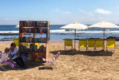 Playa, sol y libros: notable iniciativa se tomó Antofagasta