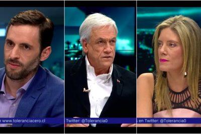 VIDEO | Encontrón entre Piñera, Rincón y Matamala por empresas zombies se transformó en el round del año de Tolerancia 0