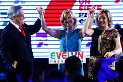 Piñera también recibió a Matthei cuando era candidata presidencial, pero en su casa