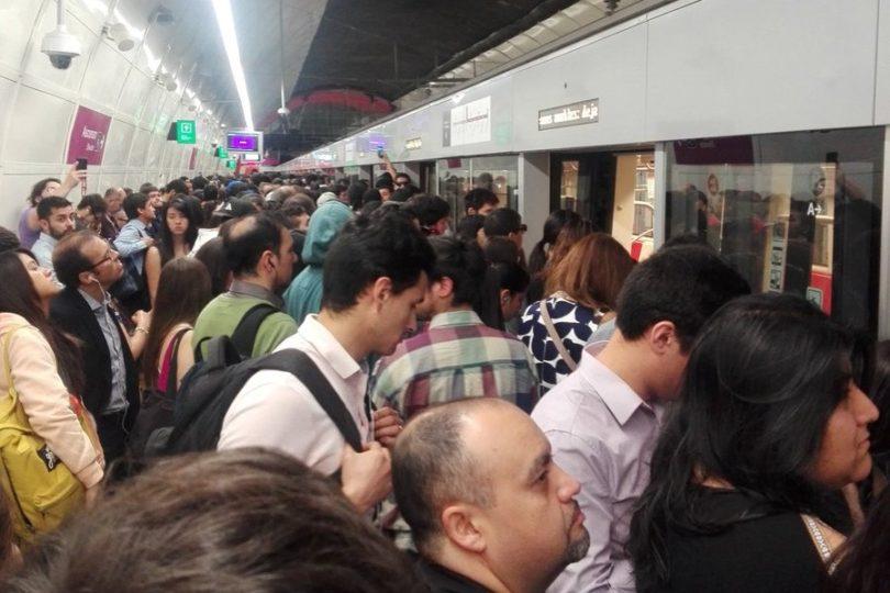VIDEO | Línea 6 sufre su primera gran falla a menos de un mes de su inauguración