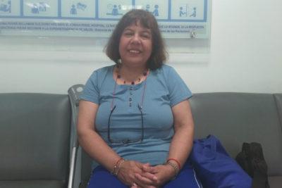 """Myriam Reyes: """"poniéndose de pie"""" gracias a nuevas tecnologías y procedimientos médicos"""